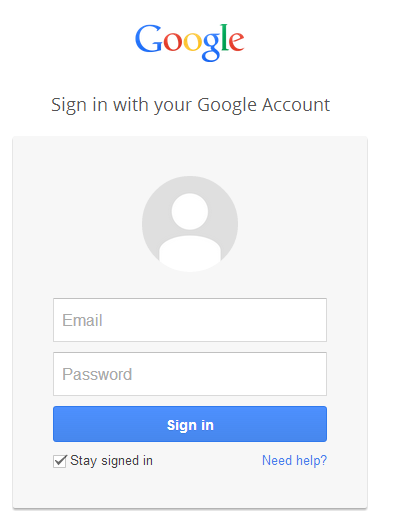 how to logout of a google account on android